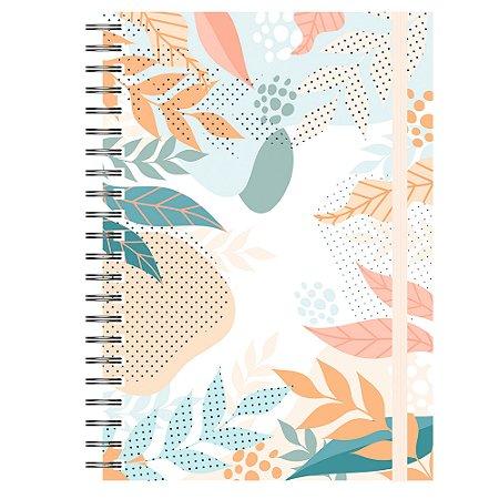 Caderno A5 : Abstrato Tropical