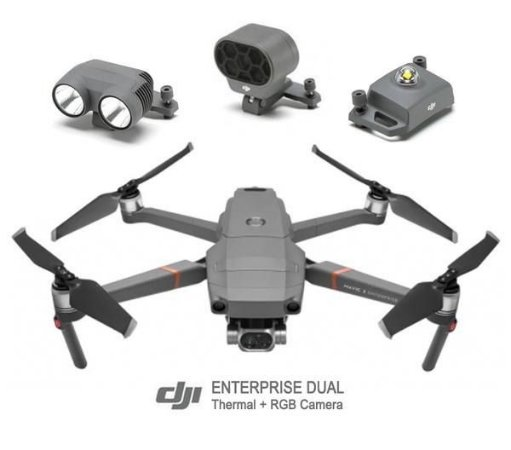 DJI - MAVIC 2 ENTERPRISE DUAL COMBO