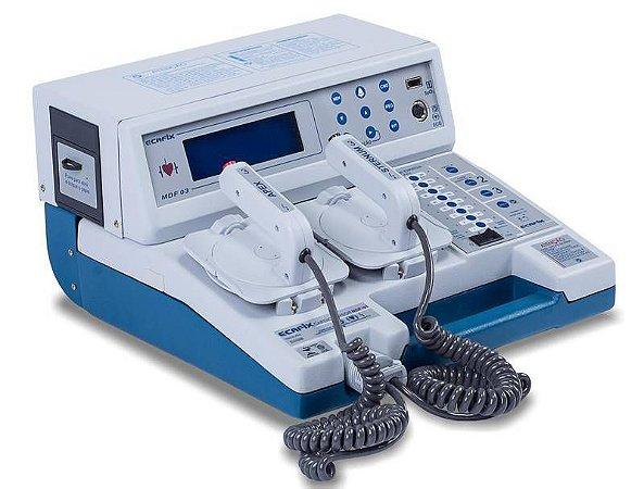 Cardioversor Ecafix com Bateria e Oximetria MDF-03BS