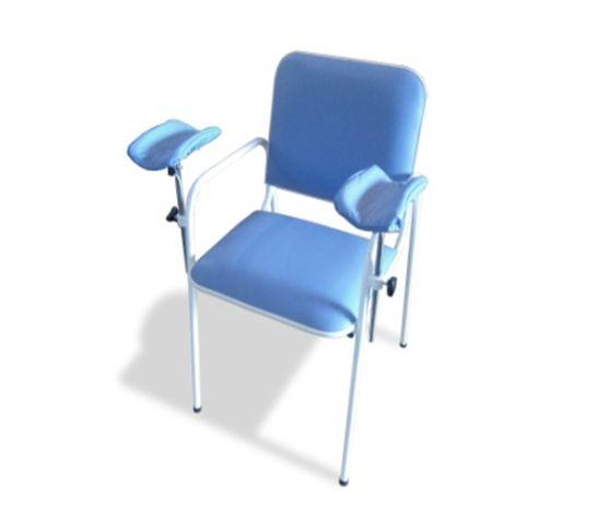 Cadeira para Coleta de Sangue Azul