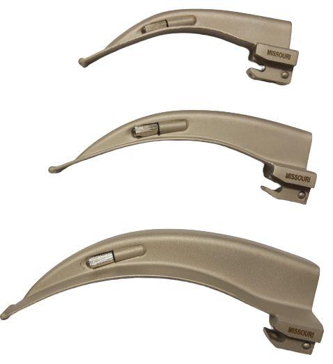 Lâmina para Laringoscópio Convencional Missouri Curva Macintosh