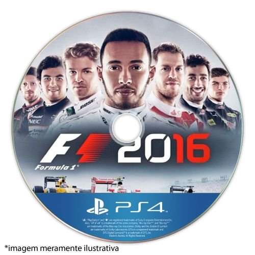 Formula 1 2016 Seminovo (SEM CAPA) - PS4