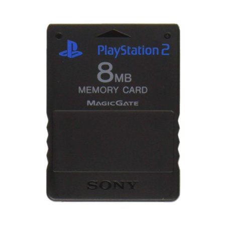 Memory Card 8MB Seminovo - PS2 (Original)