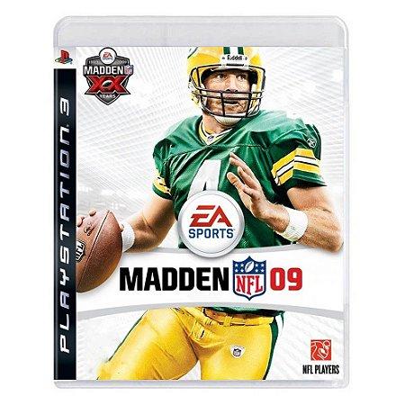 Madden NFL 09 Seminovo - PS3