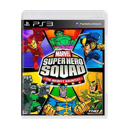 Marvel Super Hero Squad: The Infinity Gauntlet Seminovo - PS3