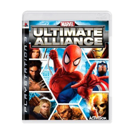 Marvel: Ultimate Alliance Seminovo - PS3