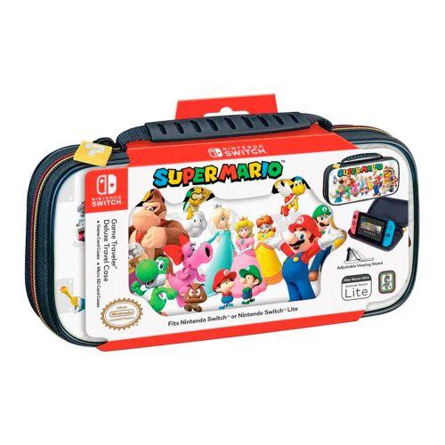 Case Game Traveller Deluxe Super Mario - Nintendo Switch