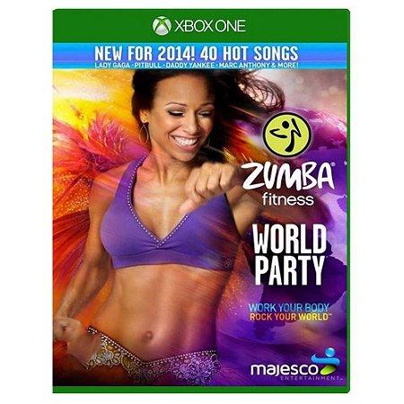 Zumba Fitness World Party Seminovo - Xbox One