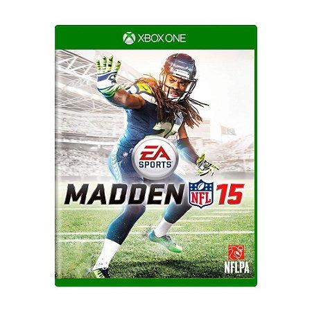 Madden NFL 15 Seminovo - Xbox One