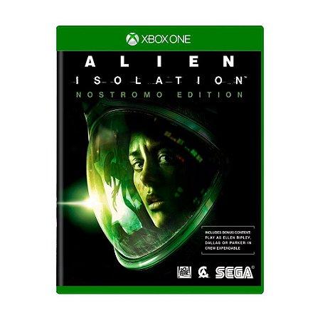 Alien Isolation: Nostromo Edition Seminovo - Xbox One