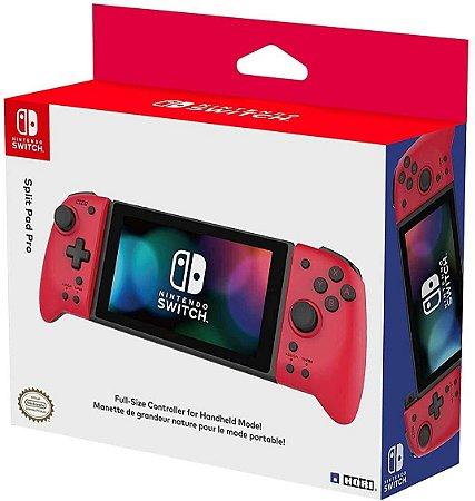 Controle Hori Split Pad Pro Vermelho - Nintendo Switch