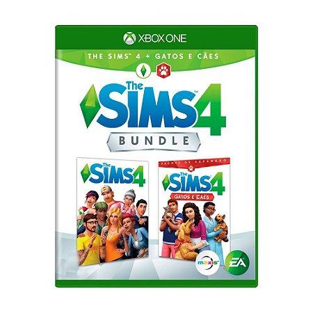 The Sims 4 + Gatos e Cães (Bundle) Seminovo - Xbox One