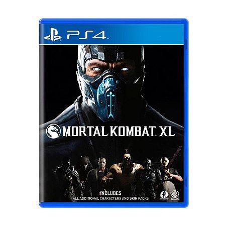 Mortal Kombat XL Seminovo - PS4