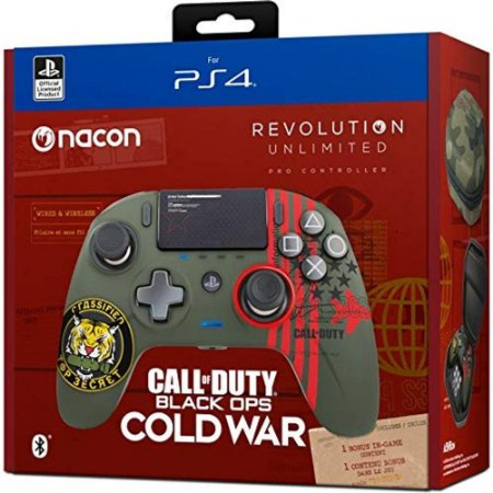 Controle Nacon Revolution Unlimited - Call of Duty Black Ops Cold war