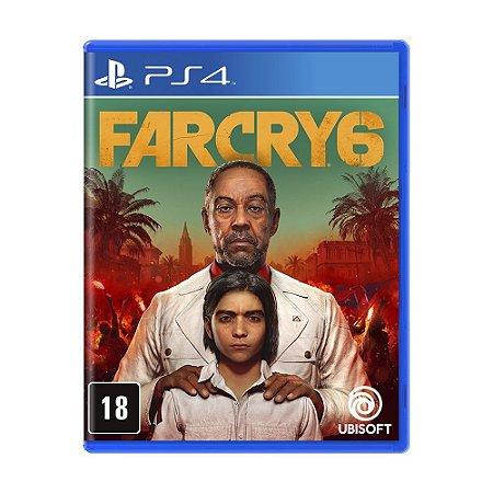 Far Cry 6 - PS4 Com Mapa Exclusivo
