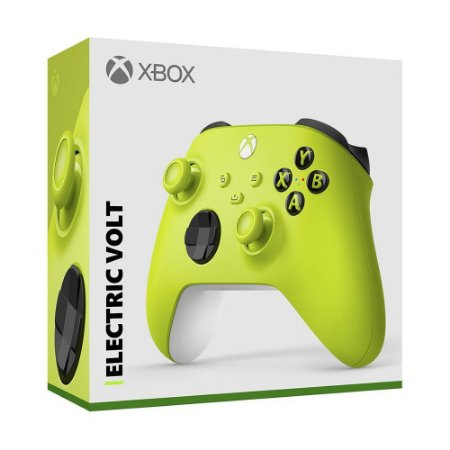 Controle Sem Fio Xbox Electric Volt - Series X, S, One - Verde