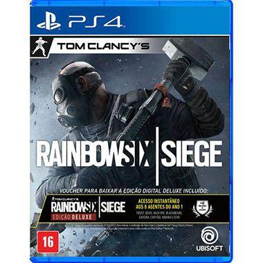 Tom Clancys Rainbow Six Siege Com Vouncher Edição Deluxe – PS4