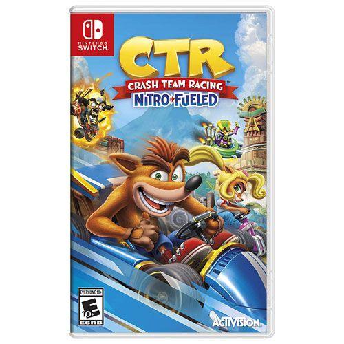 CTR Crash Team Racing Nitro Fueled – Nintendo Switch