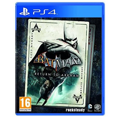Batman Return To Arkham Seminovo – PS4