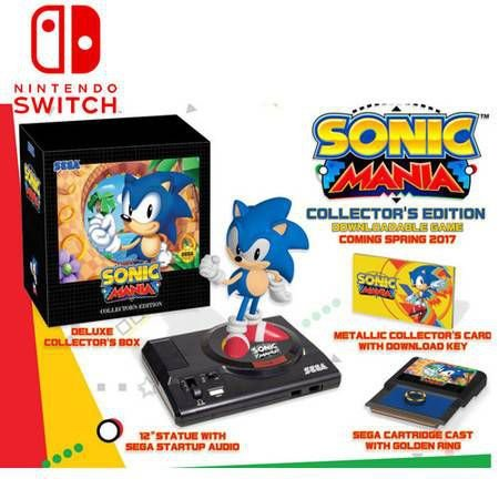 Sonic Mania Collector's Edition – Nintendo Switch