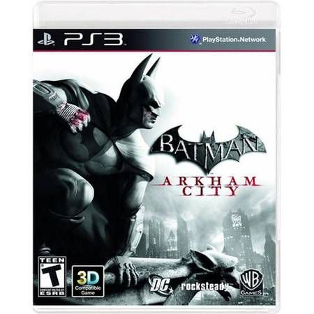 Batman Arkham City Seminovo – PS3
