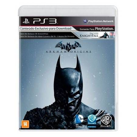 Batman Arkham Origins Seminovo – PS3