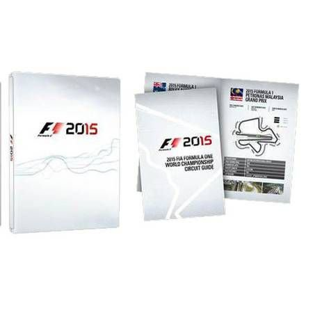 Formula 1 2015 GuideBook Seminovo- PS4