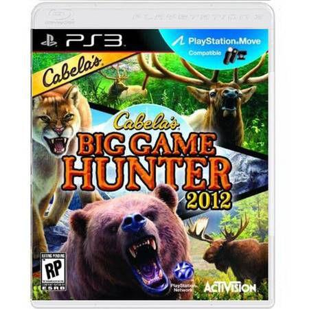 Cabela's Big Game Hunter 2012 Seminovo – PS3
