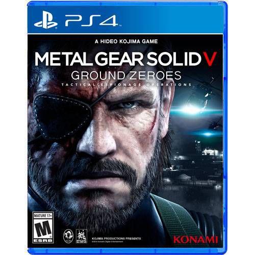 Metal Gear Solid V Ground Zeroes Seminovo – PS4