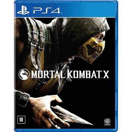 Mortal Kombat X Seminovo – PS4