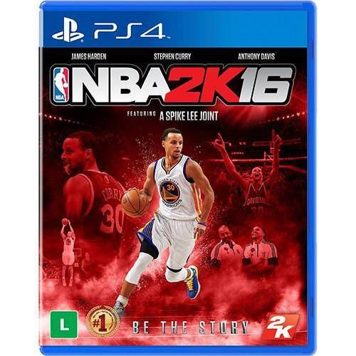 NBA 2K16 Seminovo – PS4