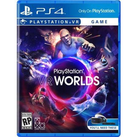 PlayStation VR Worlds Seminovo – PS4