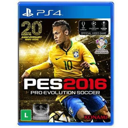 PES Pro Evolution Soccer 2016 Seminovo – PS4