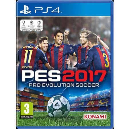 PES Pro Evolution Soccer 2017 Seminovo – PS4