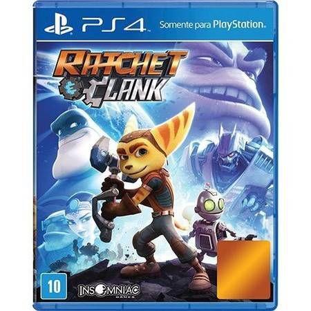Ratchet e Clank Seminovo – PS4