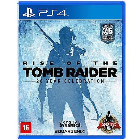 Rise Of The Tomb Raider Seminovo – PS4