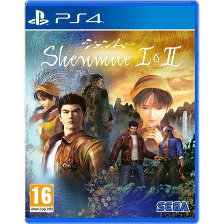 Shenmue I e II HD Collection Seminovo – PS4