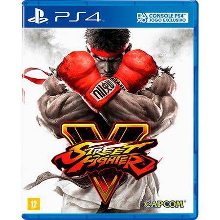 Street Fighter V Seminovo – PS4