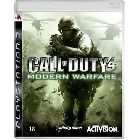 Call of Duty Modern Warfare 4 Seminovo - PS3