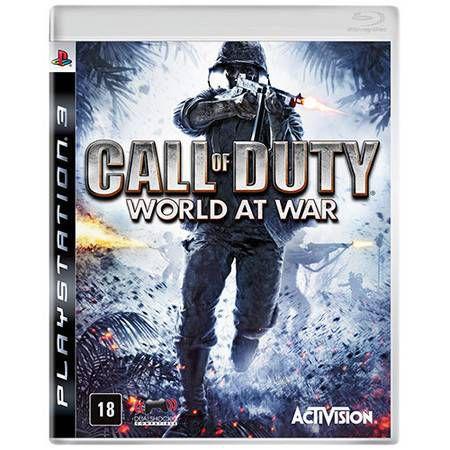 Call of Duty World at War Seminovo – PS3
