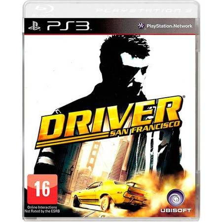 Driver San Franciso Seminovo – PS3