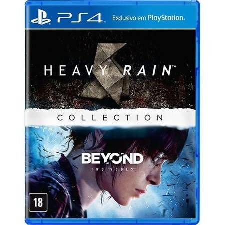 Heavy Rain + Beyond Two Souls Collection Seminovo – PS4