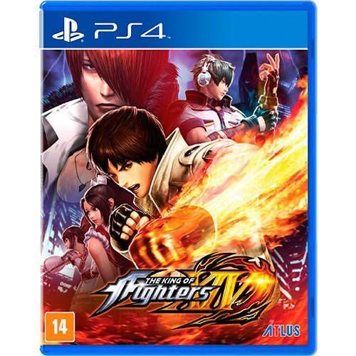The King Of Fighters XIV Seminovo – PS4