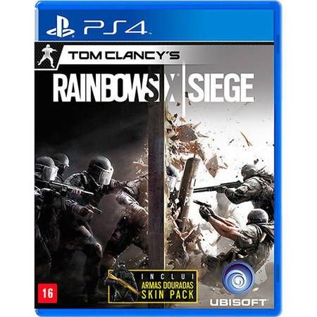 Tom Clancys Rainbow Six Siege Seminovo – PS4