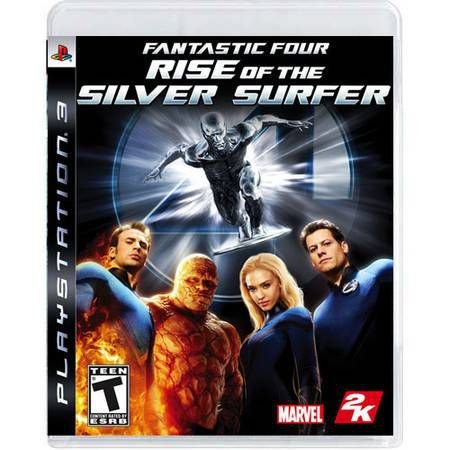 Fantastic Four Silver Surfer Seminovo – PS3