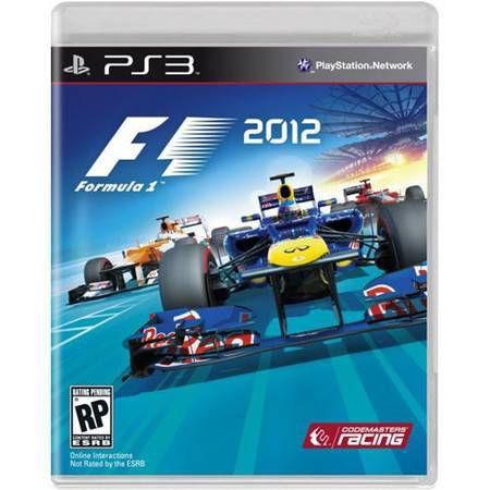 Formula 1 F1 2012 Seminovo – PS3