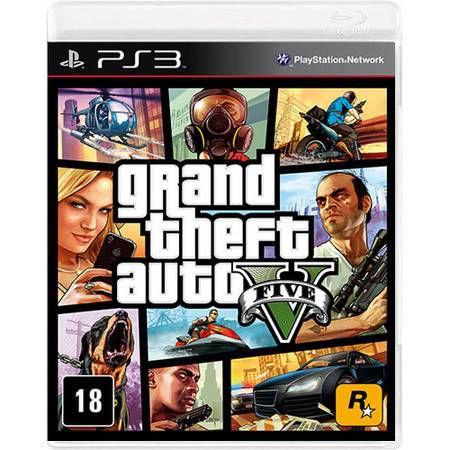 Grand Theft Auto GTA V Seminovo – PS3