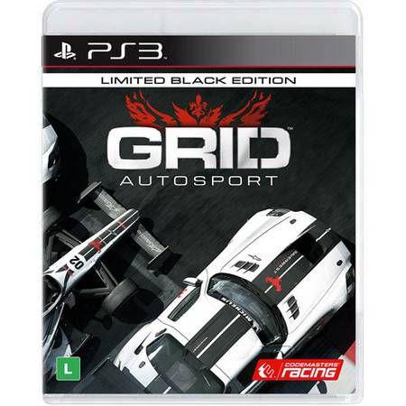 Grid Autosport Black Edition Seminovo – PS3
