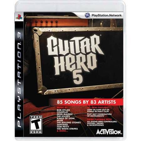 Guitar Hero 5 Seminovo – PS3