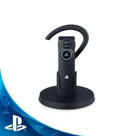Headset Bluetooth e Carga Dock Seminovo – PS3